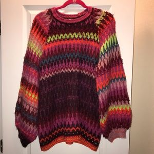Free People Castles in the Sky Sweater XS NWT
